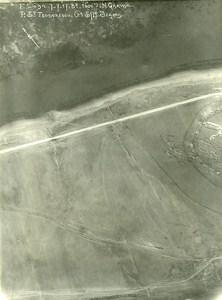 Romania Tip of Dobroge Garvan Orient War WWI WW1 Old Aerial Photo 1917