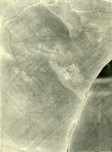 Romania Tip of Dobroge Cote 86 Orient War WWI WW1 Old Aerial Photo 1917