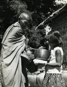 The Monk Sinoun small Cambodian Old Photo Wertheimer 1968