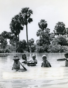 Fisherboys Sinoun small Cambodian Old Photo Wertheimer 1968