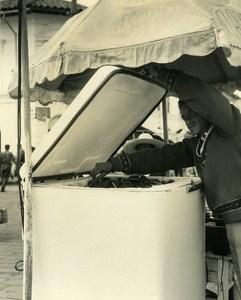 Ice Cream Street retailer Micias Children of Andes Ecuador Photo Beauvais 1960