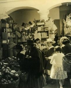 The Market Portrait Micias Children of Andes Ecuador Old Photo Beauvais 1960