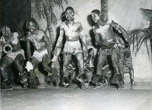 CCFCI Abidjan Ivory Coast Theater Festival Dance Troup Old Photo 1956