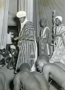 Africa Senegal Dakar Festival Nigerian Theater Troup Old Photo 1956