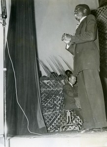 Africa Senegal Dakar MJC Inauguration Pioneers Palace Old Photo 1956