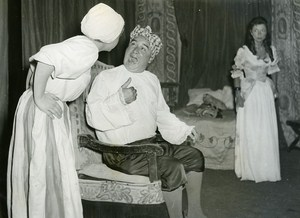 Africa Senegal Dakar MJC Moliere Theater Malade Imaginaire Old Photo 1956