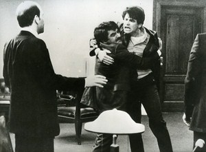 Treat Williams & Richard Foronjy in Prince of the City Cinema News Photo 1980