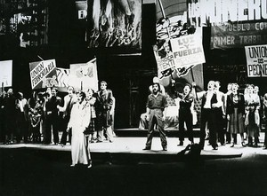 Evita Rock Opera Madrid Spain News Photo 1980