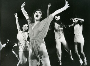 Brasil Dance Actress Louise Cardoso News Photo 1980