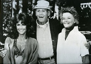 Jane Henry Fonda & K Hepburn in On Golden Pond Cinema News Photo 1980