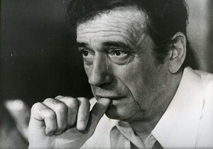 French Actor Portrait Yves Montand Cinema News Photo 1980