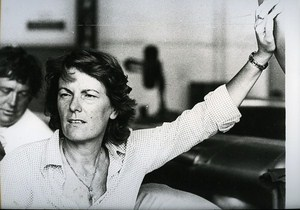 Italian Director Liliana Cavani Cinema News Photo 1980
