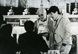 Italian Director Ermanno Olmi Cinema News Photo 1980