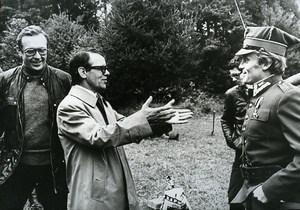 Stage Director Krzysztof Zanussi & Giacomo Pezzali Cinema News Photo 1980