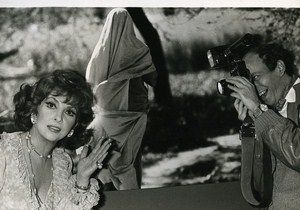 Italian Actress Gina Lollobrigida Cinema News Photo 1980