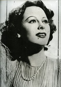 Hedy Lamar at the time of his Hollywood success Cinema News Photo 1980