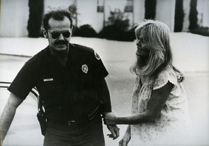 Valerie Perrine & Jack Nicholson in The Border Cinema News Photo 1980
