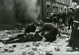 Urban War Street Violence Wounded Belfast ? Cinema News Photo 1980