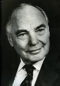 Harry Oppenheimer Magnat South African Diamonds News Photo 1980