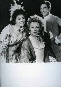 Theater D Tutin G McEvan & John Wood in The Provok d Wife News Photo 1980