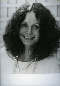 English Actress Portrait Sarah Miles Cinema News Photo 1980