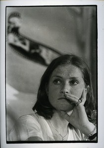 French Actress portrait Isabelle Huppert Cinema News Photo 1980