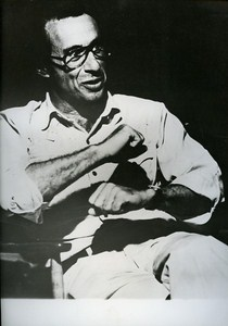 Portrait of American filmmaker Arthur Penn Cinema News Photo ca 1980