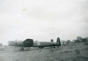 Kenilworth Flying Schools Avro 694 Lincoln Plane Old Snapshot 1949