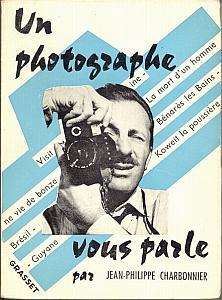 Un photographe vous parle par Charbonnier, Jean-Philippe