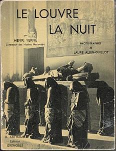 Le Louvre La Nuit par Albin-Guillot, Laure & Verne, Henri