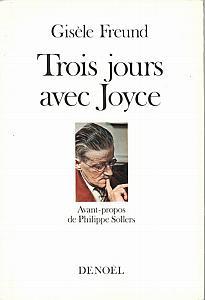 Trois jours avec Joyce par Freund, Gisèle