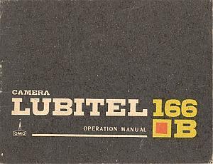 Camera Lubitel 166B - operation manual by Lubitel