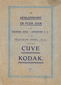 Le développement en plein jour dea pelliculs Kodak