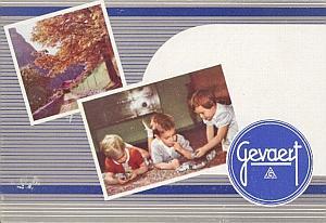 Catalogue publicitaire de la société Gevaert by Gevaert