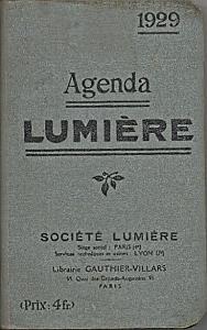 Agenda Lumière par Société Lumière