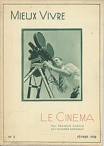 Le Cinéma by Carco, Francis
