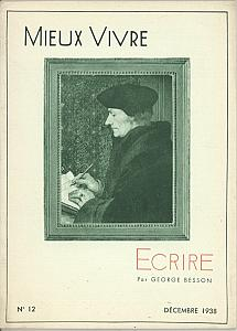 Ecrire by Besson, George