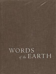 Words of the Earth par Wright, Cedric