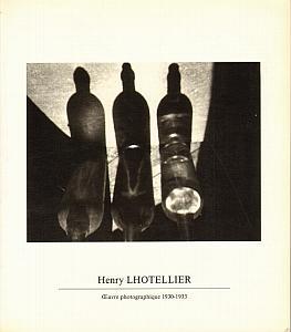 Oeuvre photographique 1930 - 1933 par Lhotellier, Henry