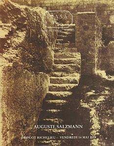 Reproductions photographiques des monuments de Jérusalem par Salzmann, Auguste
