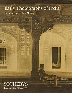 Early Photographs of India - The archive of Dr John Murray par Murray, John