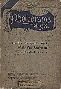 Photograms of 98 - A pictorial and literary record of the best photographic work of the year. Compiled by the Editors & Staff of the