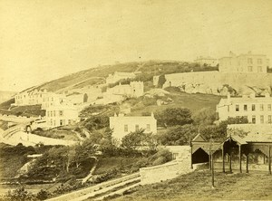 Ireland Eire Dublin Dalkey Island Old Albumen Photo 1875