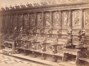 Italy Venice Chorus Church of St Giorgio Maggiore Large Photo Carlo Naya 1865