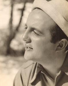 Cinema Movie France Actor Bernard Blier Old Photo Roger Forster 1940