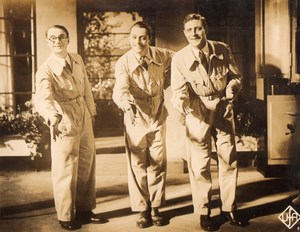 Cinema Movie Rene Lefevre Jacques Maury Henry Garat Old Photo 1930