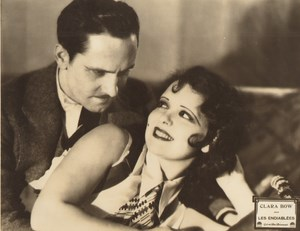 Cinema Movie First Talkie Clara Bow in The Wild Party Old Photo Paramount 1929