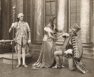 Londres Coliseum Theatre Casanova Oriel Ross John Kevan Ancienne Stage Photo 1932