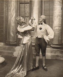 London Coliseum Theatre Casanova Oriel Ross Arthur Fear Old Stage Photo 1932