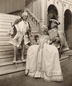 Londres Coliseum Theatre Casanova Oriel Ross Jack Barty Arthur Fear Ancienne Stage Photo 1932